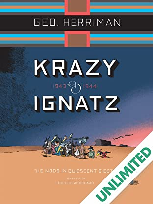 Krazy & Ignatz: 1943-1944 - He Nods in Quiescent Siesta
