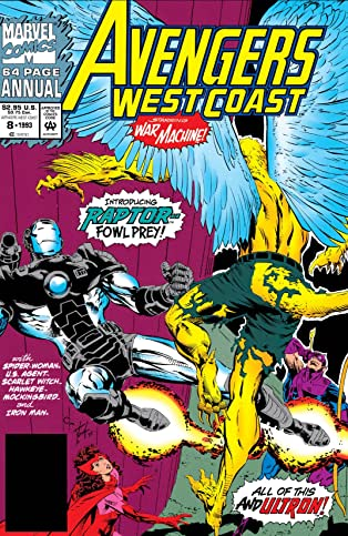 Avengers West Coast (1985-1994) Annual #8