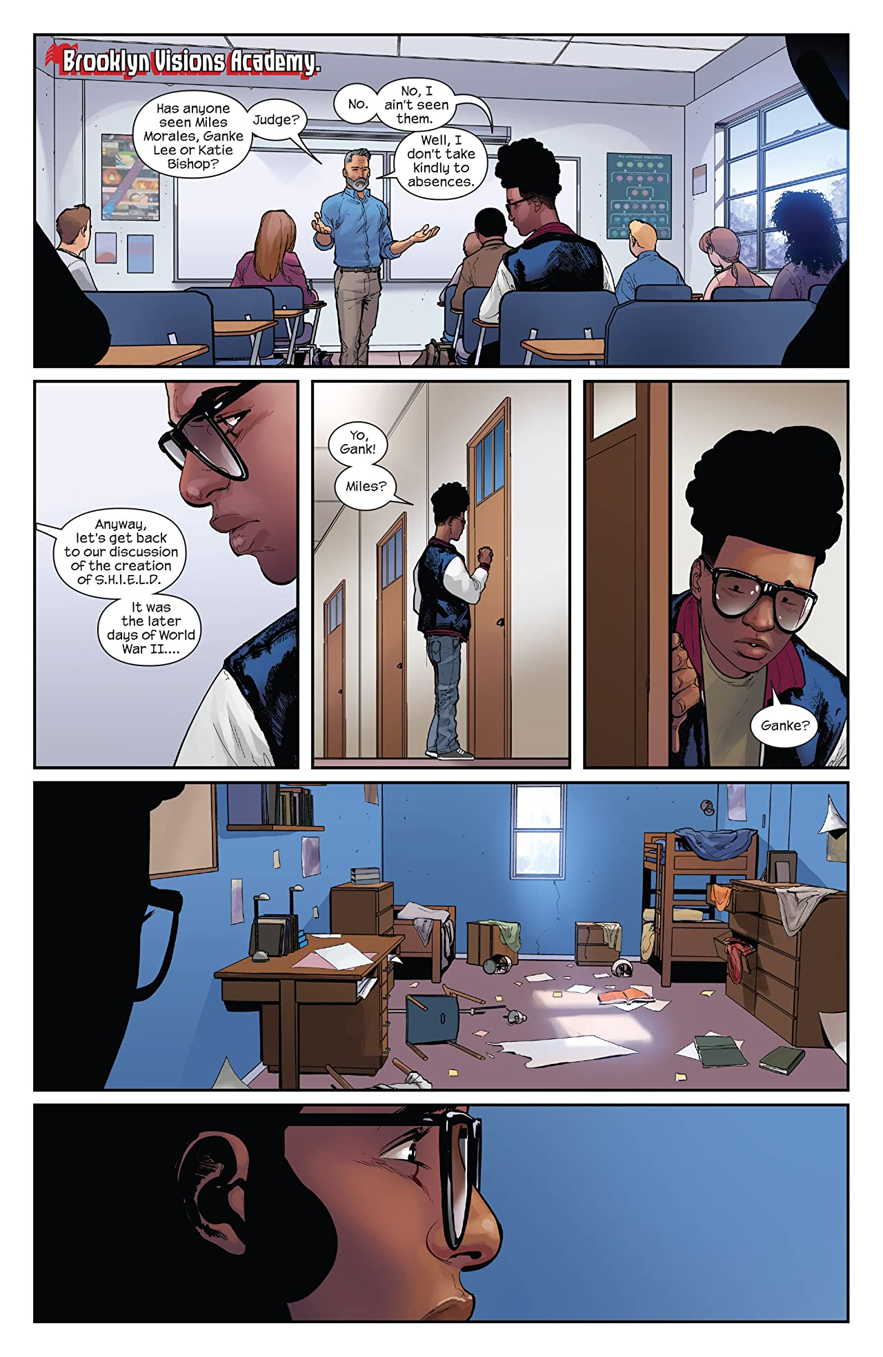 Miles Morales: Ultimate Spider-Man (2014-2015) #12
