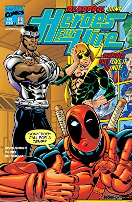 Heroes For Hire (1997-1999) No.10