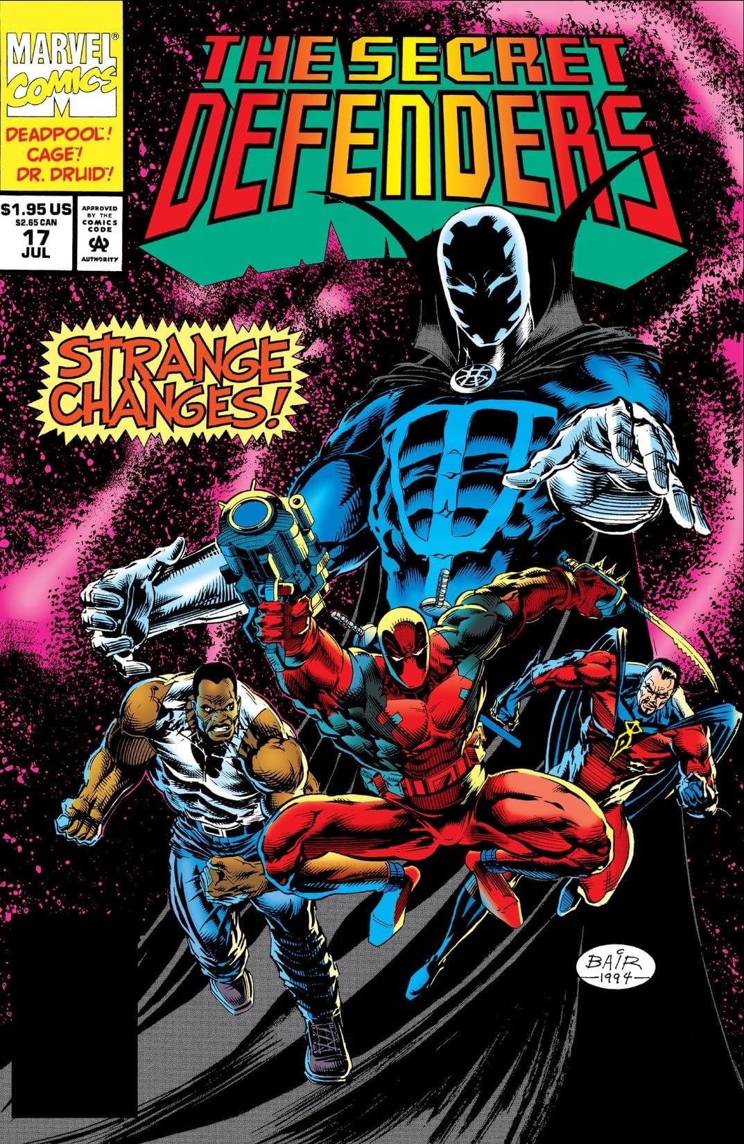 Secret Defenders (1993-1995) #17