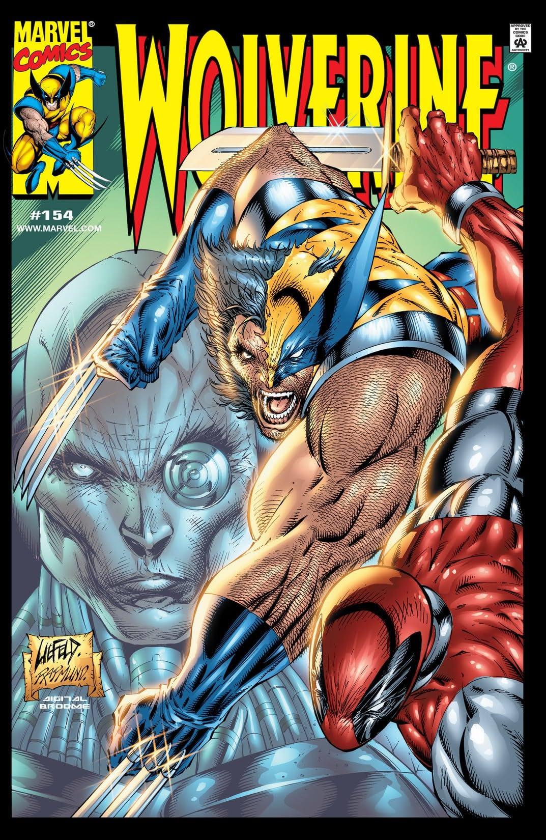 Wolverine (1988-2003) #154