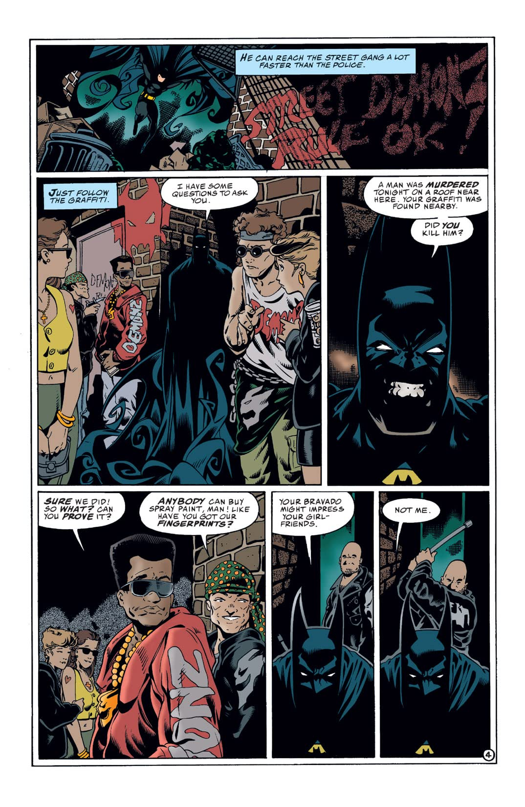 Batman: Shadow of the Bat #71