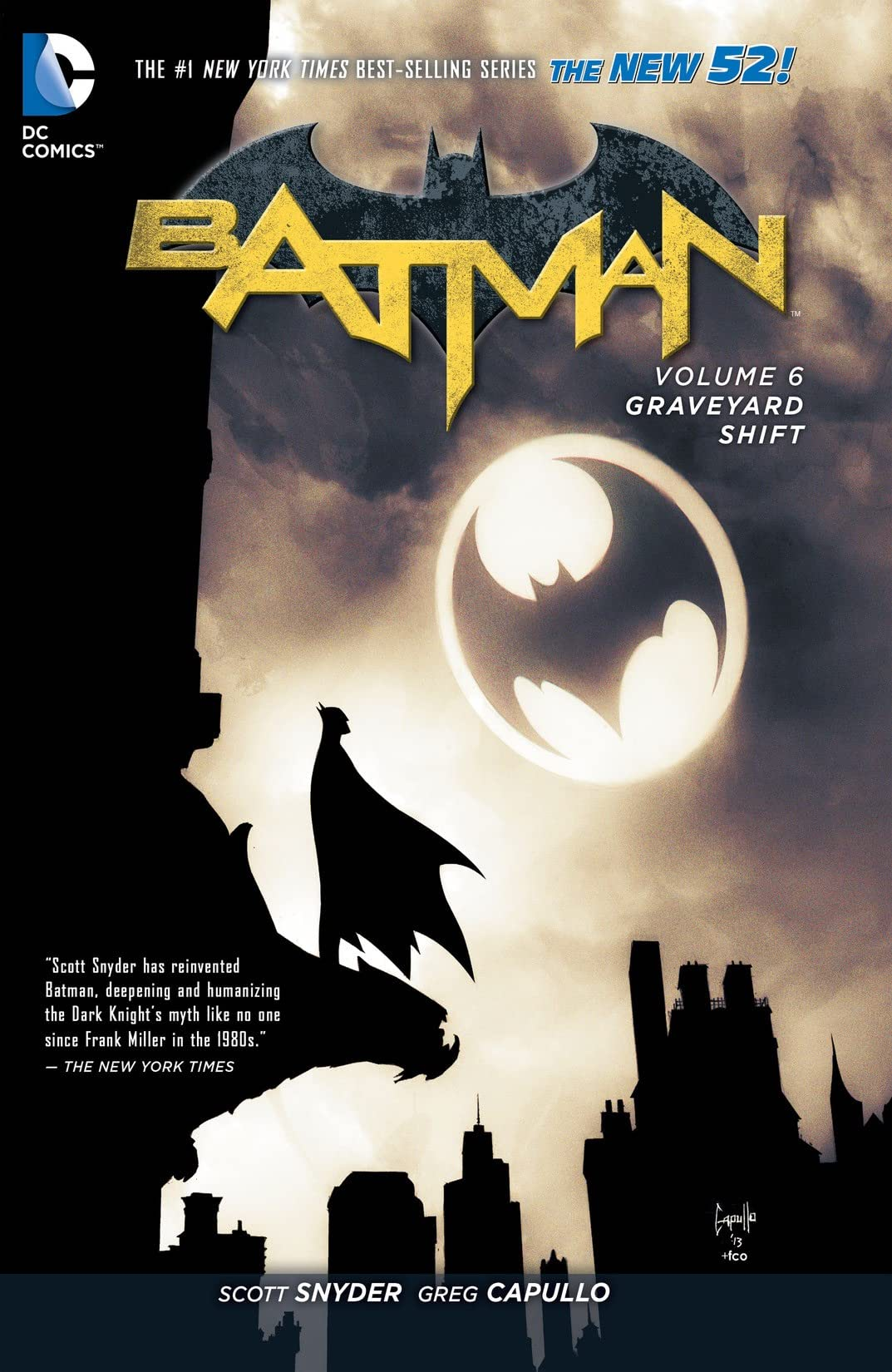 Batman (2011-2016) Tome 6: Graveyard Shift