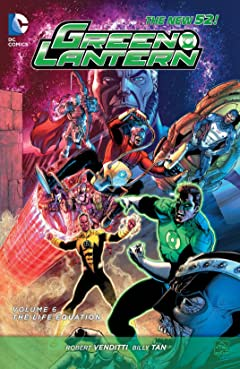 Green Lantern (2011-2016) Vol. 6: The Life Equation