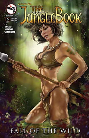 The Jungle Book: Fall of the Wild No.5 (sur 5)