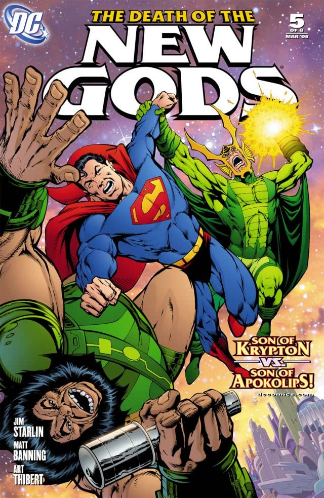 Death of the New Gods #5 (of 8)