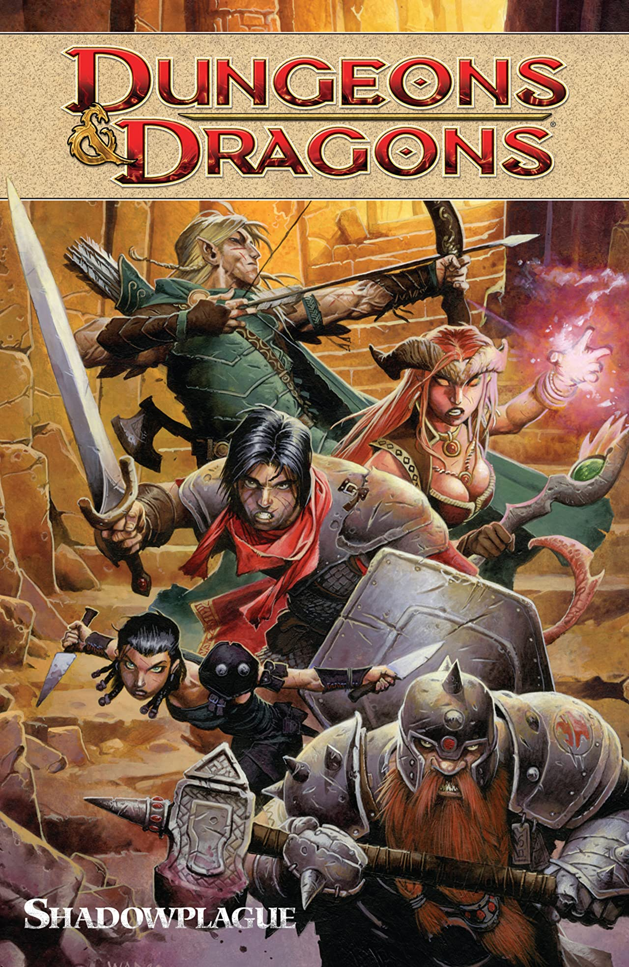 Dungeons & Dragons Tome 1: Shadowplague