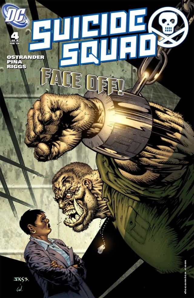 Suicide Squad (2007-2008) #4 (of 8)