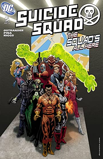 Suicide Squad (2007-2008) #5 (of 8)