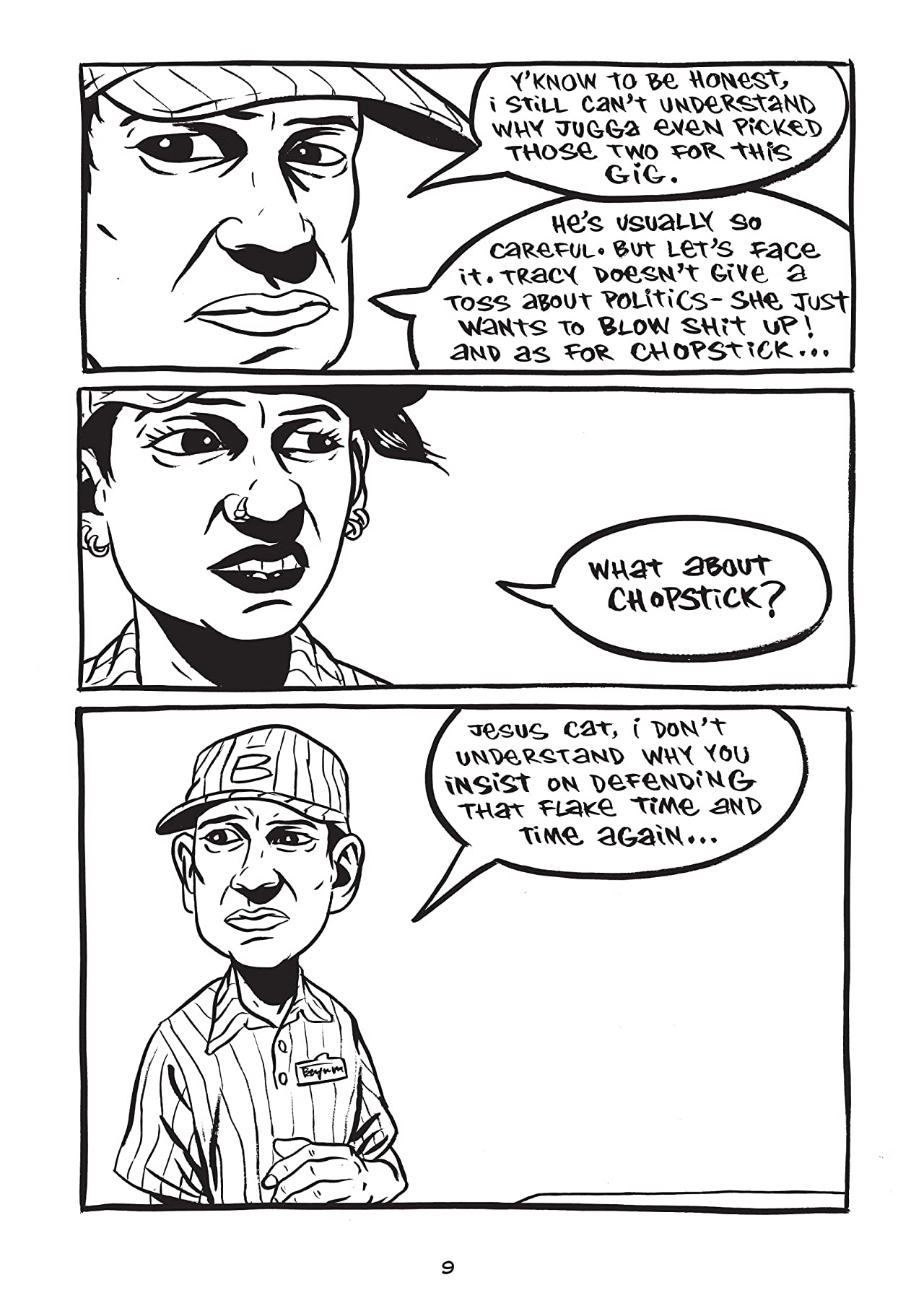 The Dharma Punks #4