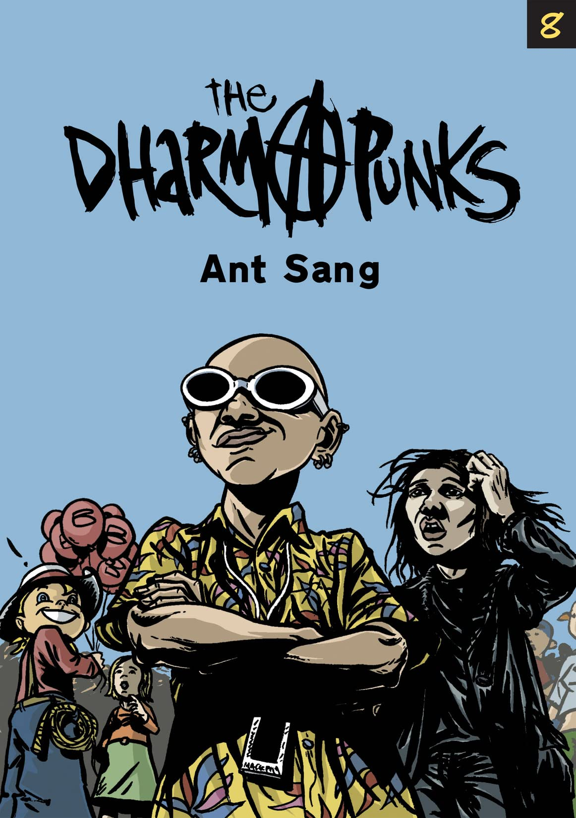 The Dharma Punks #8