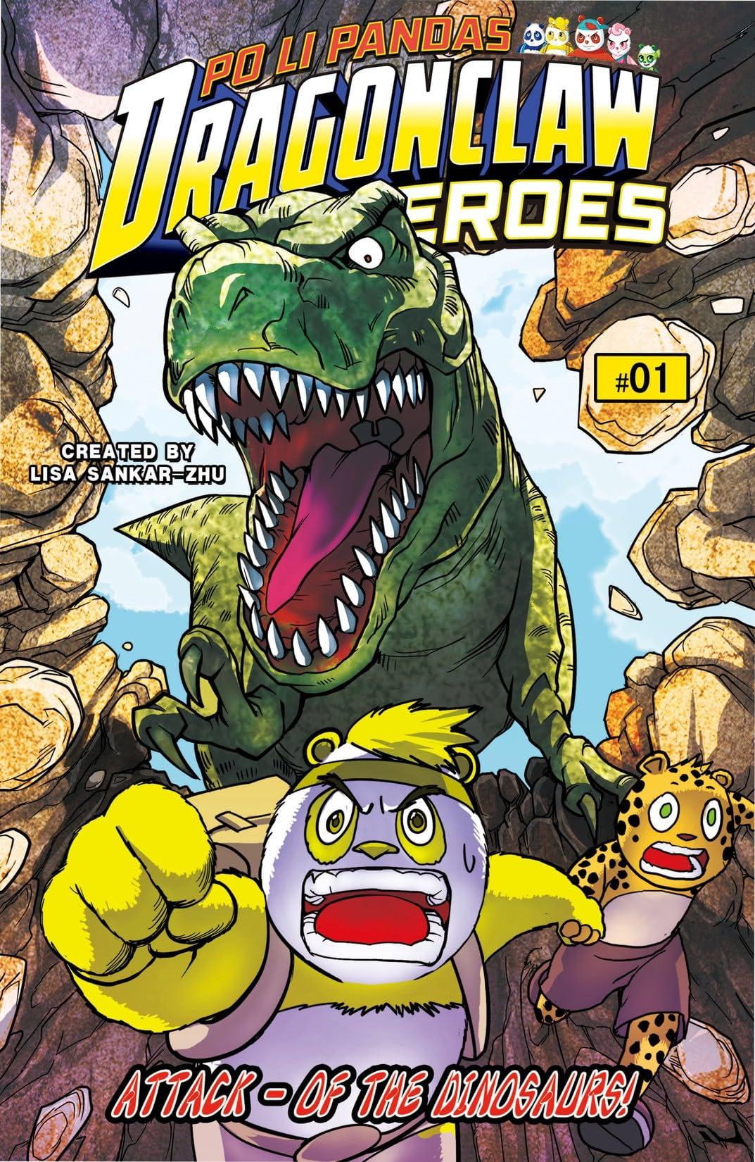 Po Li Pandas Dragon Claw Heroes #1