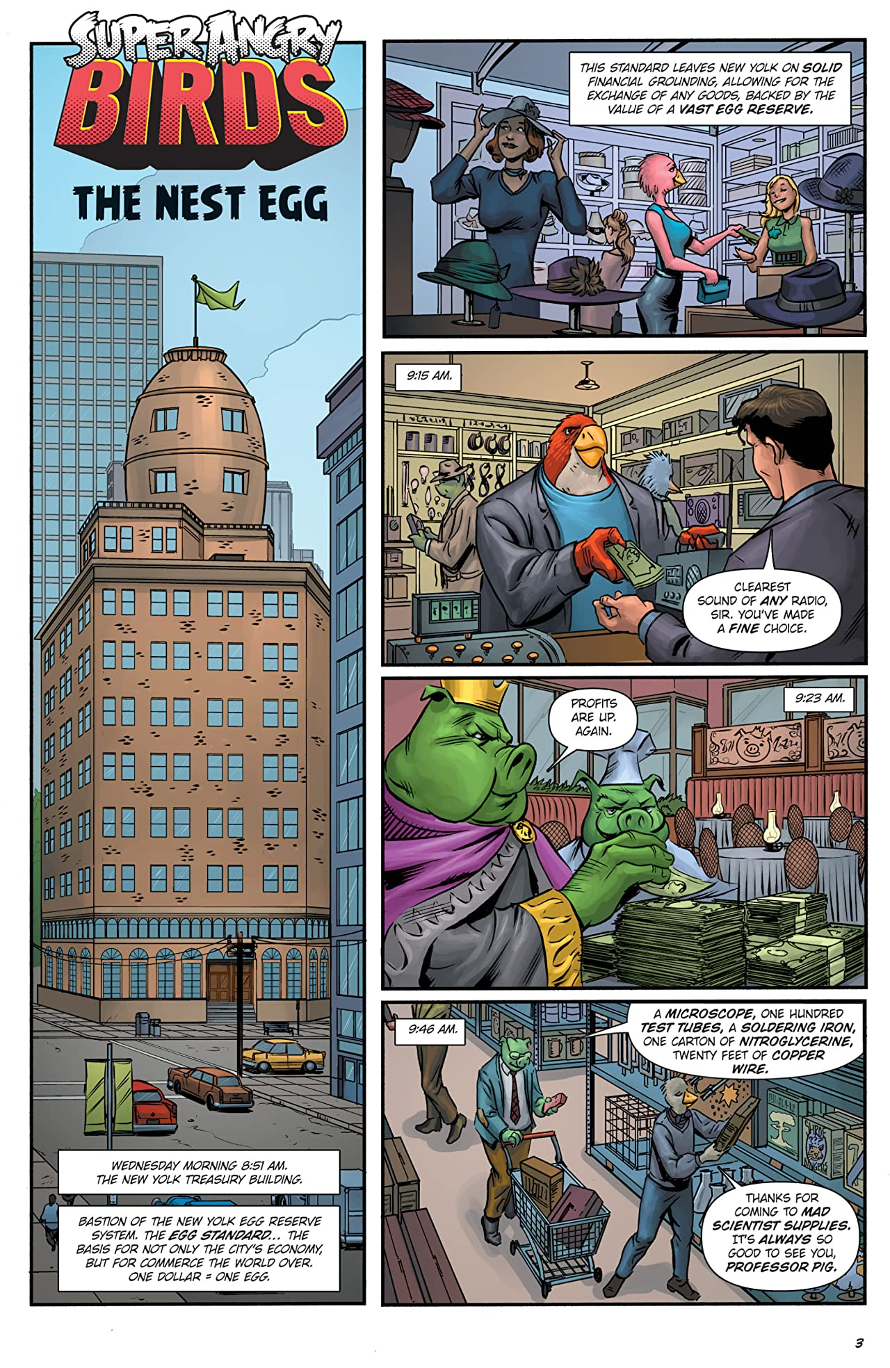 Super Angry Birds #2 (of 4)