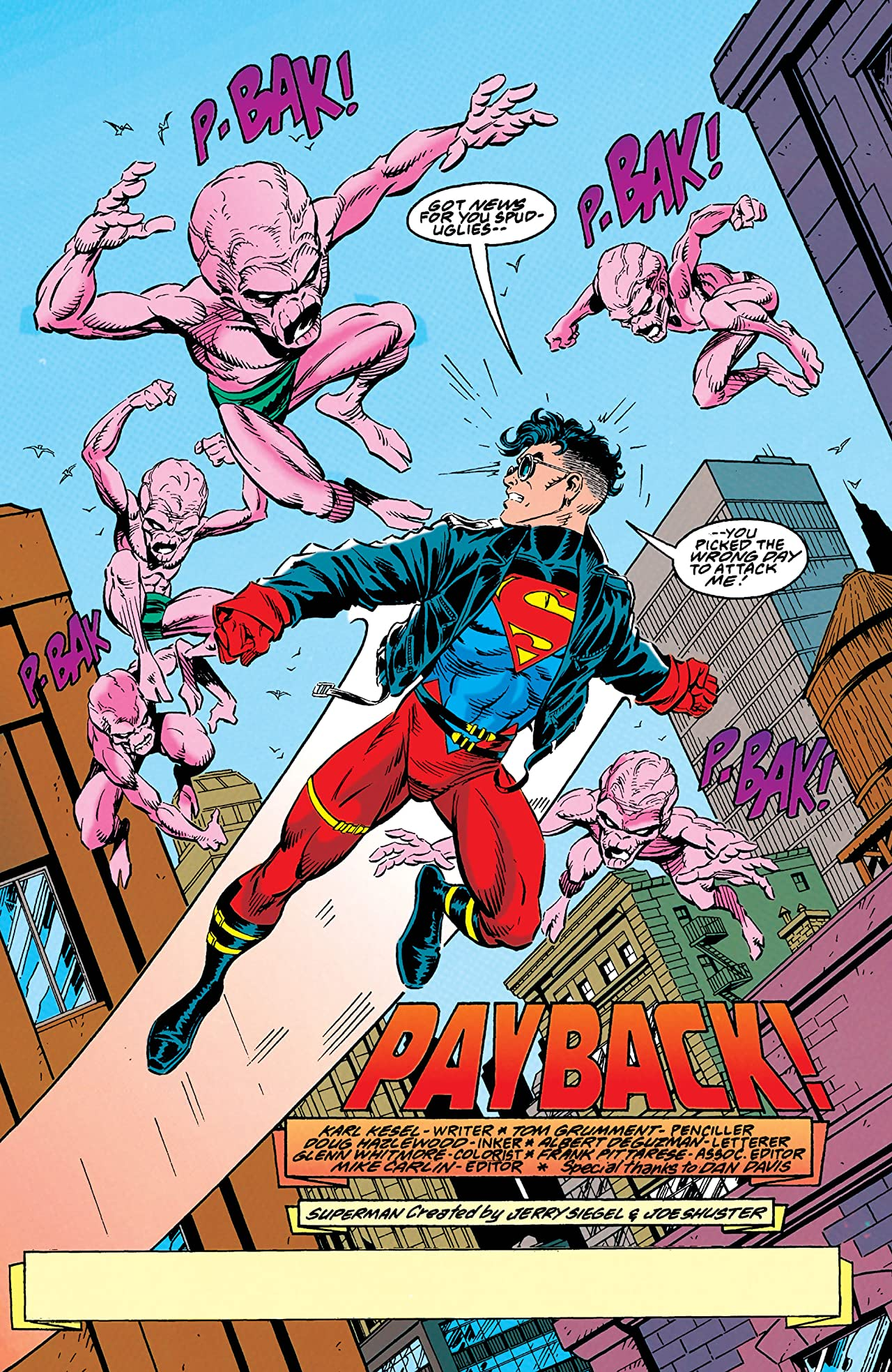 Adventures of Superman (1986-2006) #506