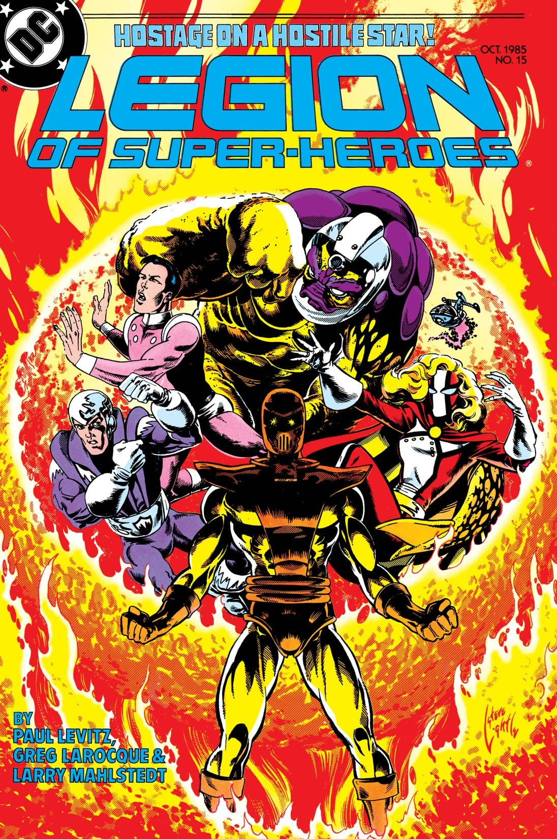 Legion of Super-Heroes (1984-1989) #15