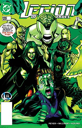 Legion of Super-Heroes (1989-2000) #120