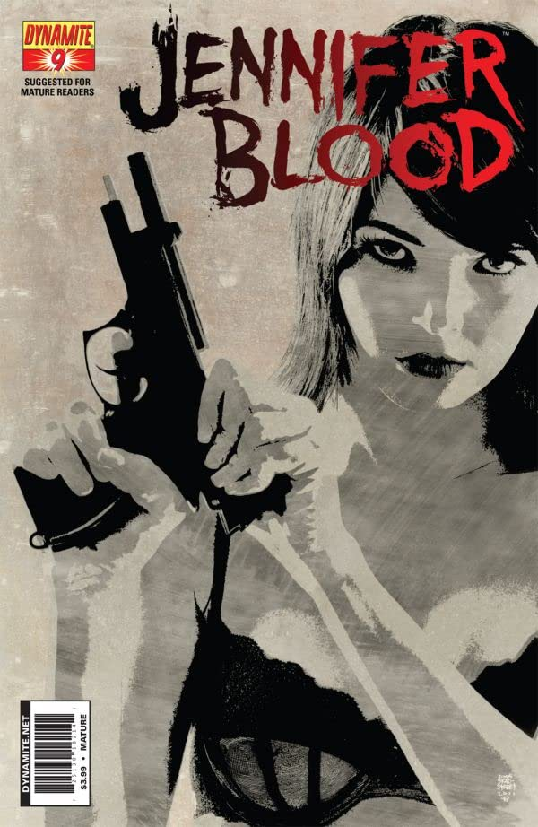 Garth Ennis' Jennifer Blood #9