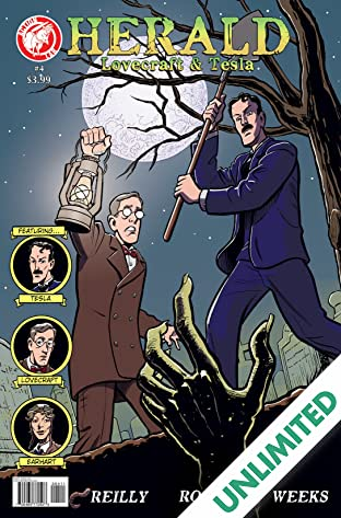 Herald: Lovecraft & Tesla #4