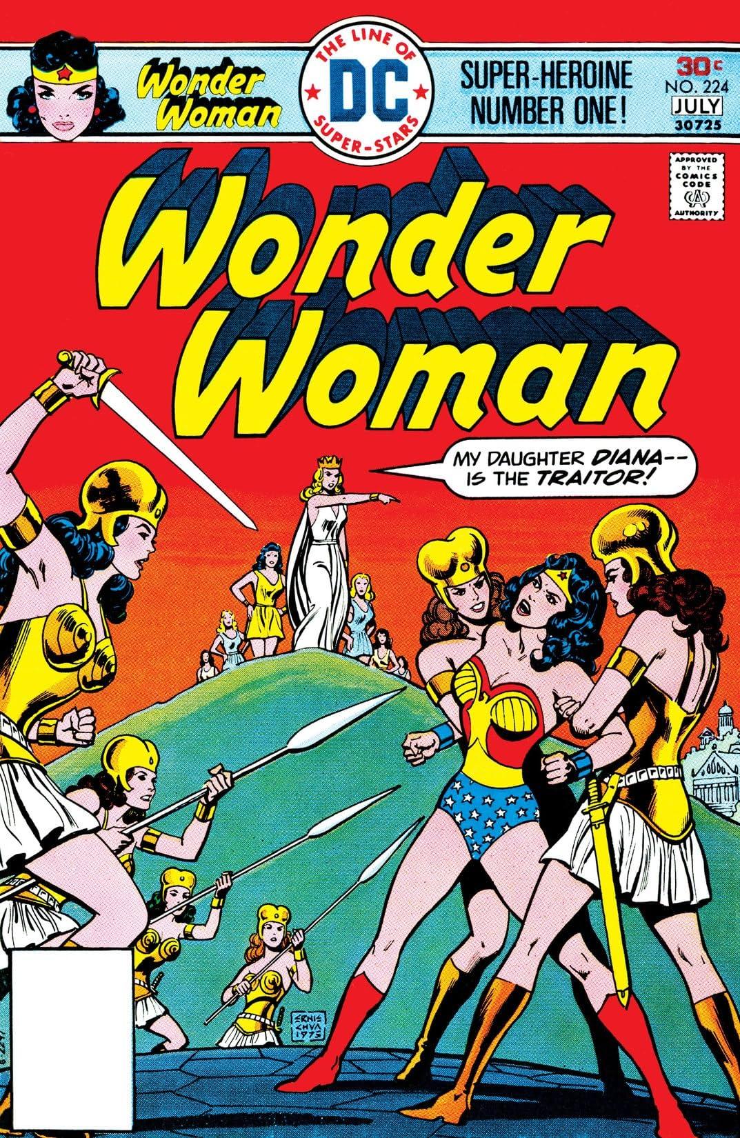 Wonder Woman (1942-1986) #224