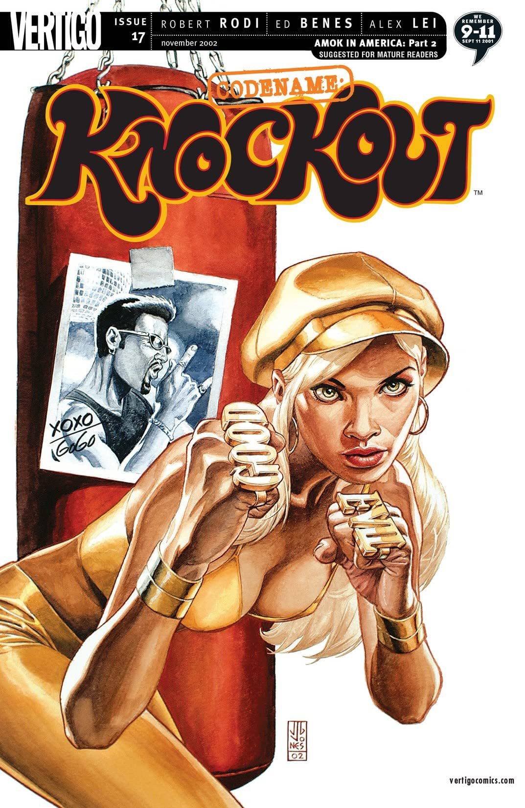 Codename: Knockout (2001-2003) #17