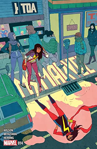 Ms. Marvel (2014-2015) #14