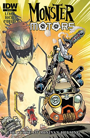 Monster Motors: The Curse of Minivan Helsing #2 (of 2)