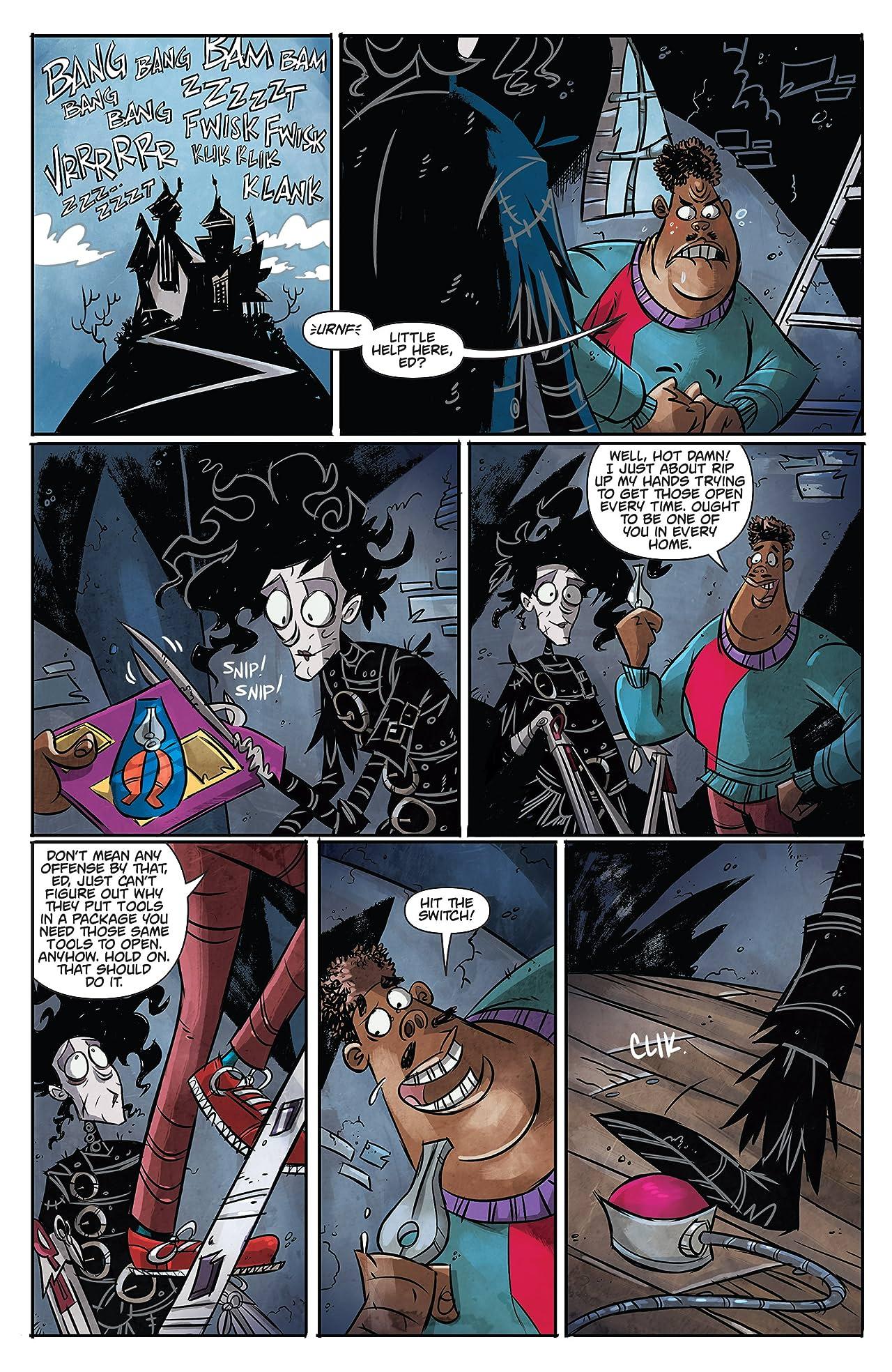Edward Scissorhands #6: Whole Again Part 1