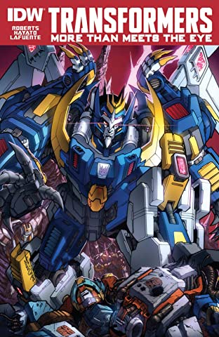 Transformers: More Than Meets the Eye (2011-) #39