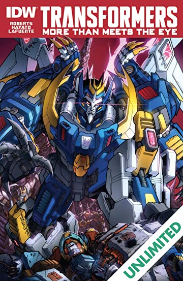 Transformers: More Than Meets the Eye (2011-2016) #39