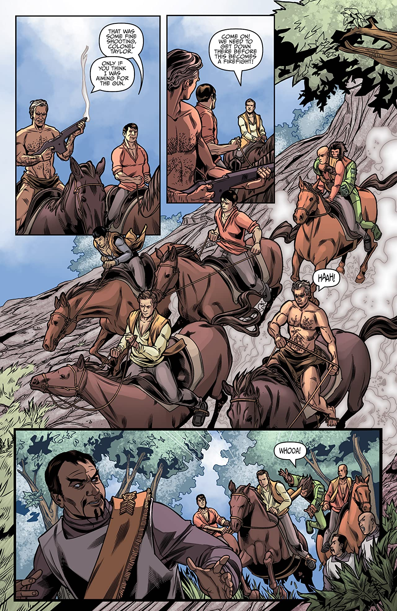 Star Trek / Planet of the Apes #5 (of 5)