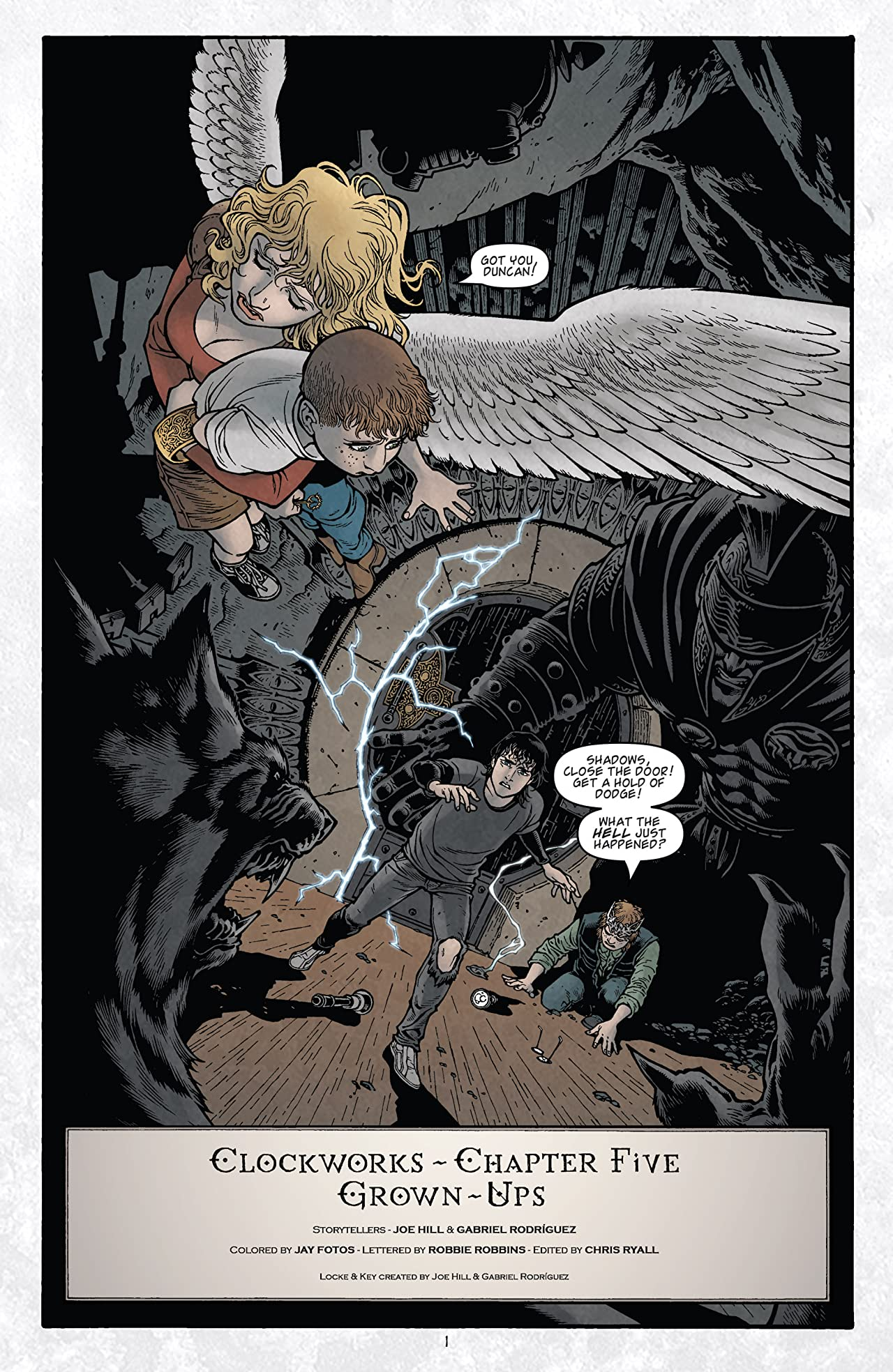 Locke & Key: Clockworks No.5 (sur 6)