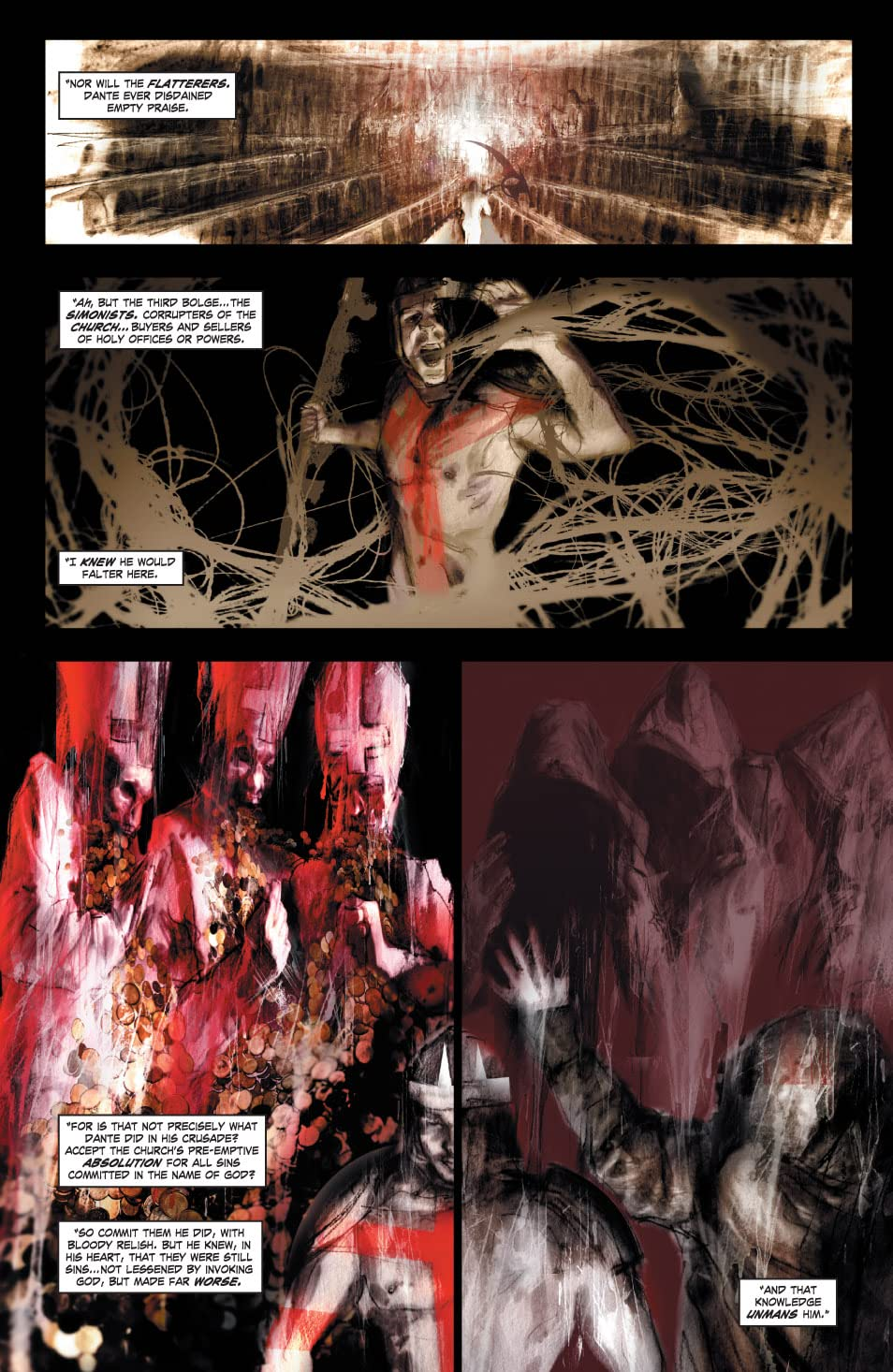 Dante's Inferno #5 (of 6)
