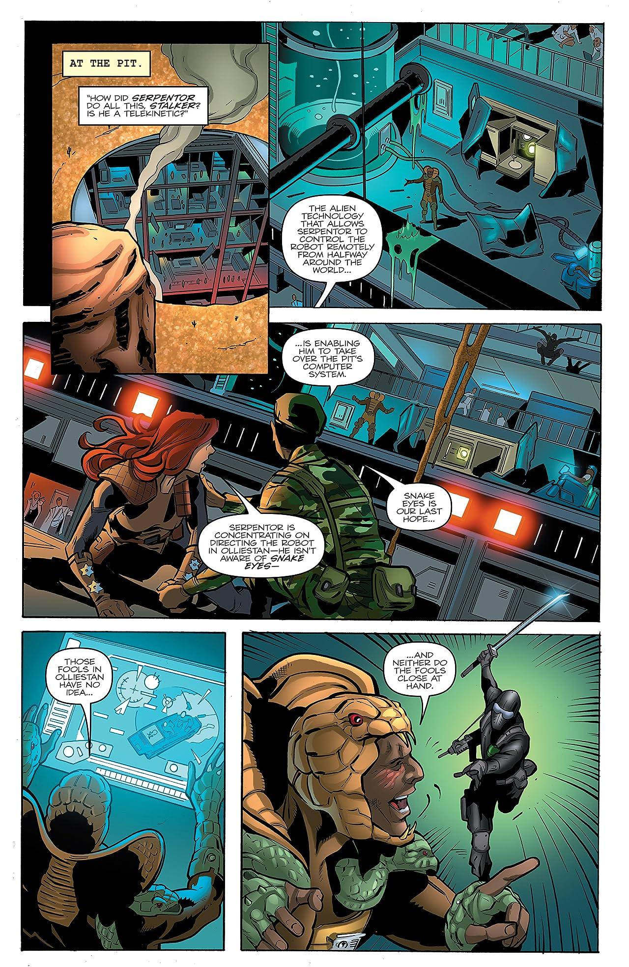 G.I. Joe: A Real American Hero #213: The Death of Snake Eyes: Part 2
