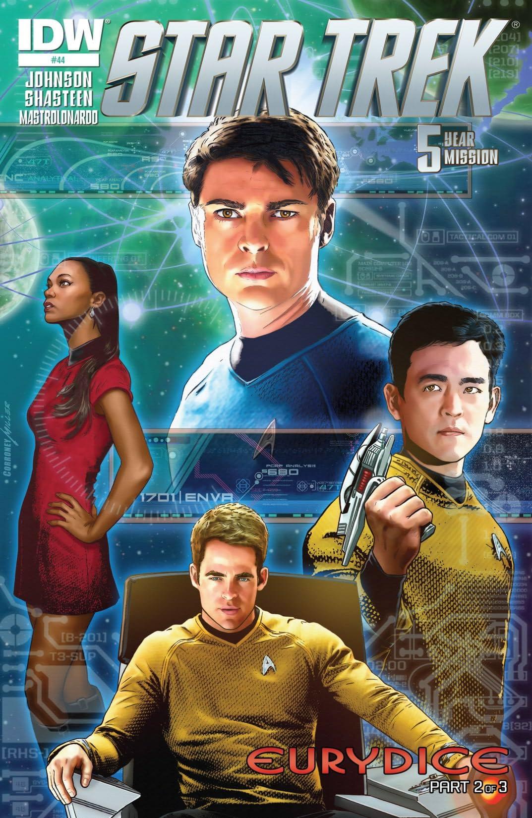 Star Trek (2011-2016) #44: Five-Year Mission
