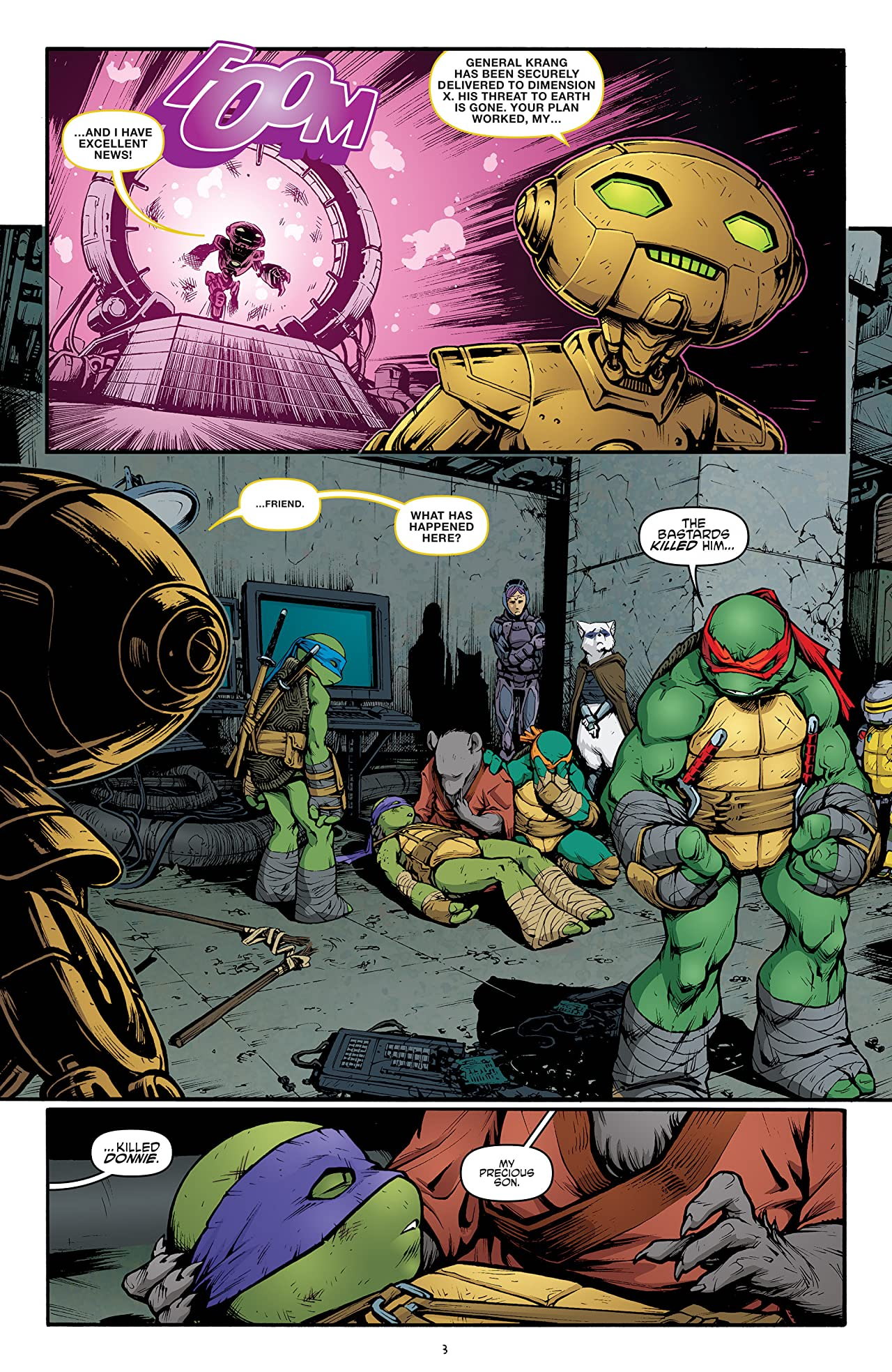 Teenage Mutant Ninja Turtles #45