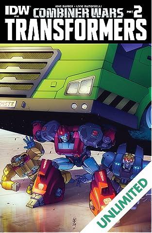 Transformers (2011-) #40: Combiner Wars Part 2