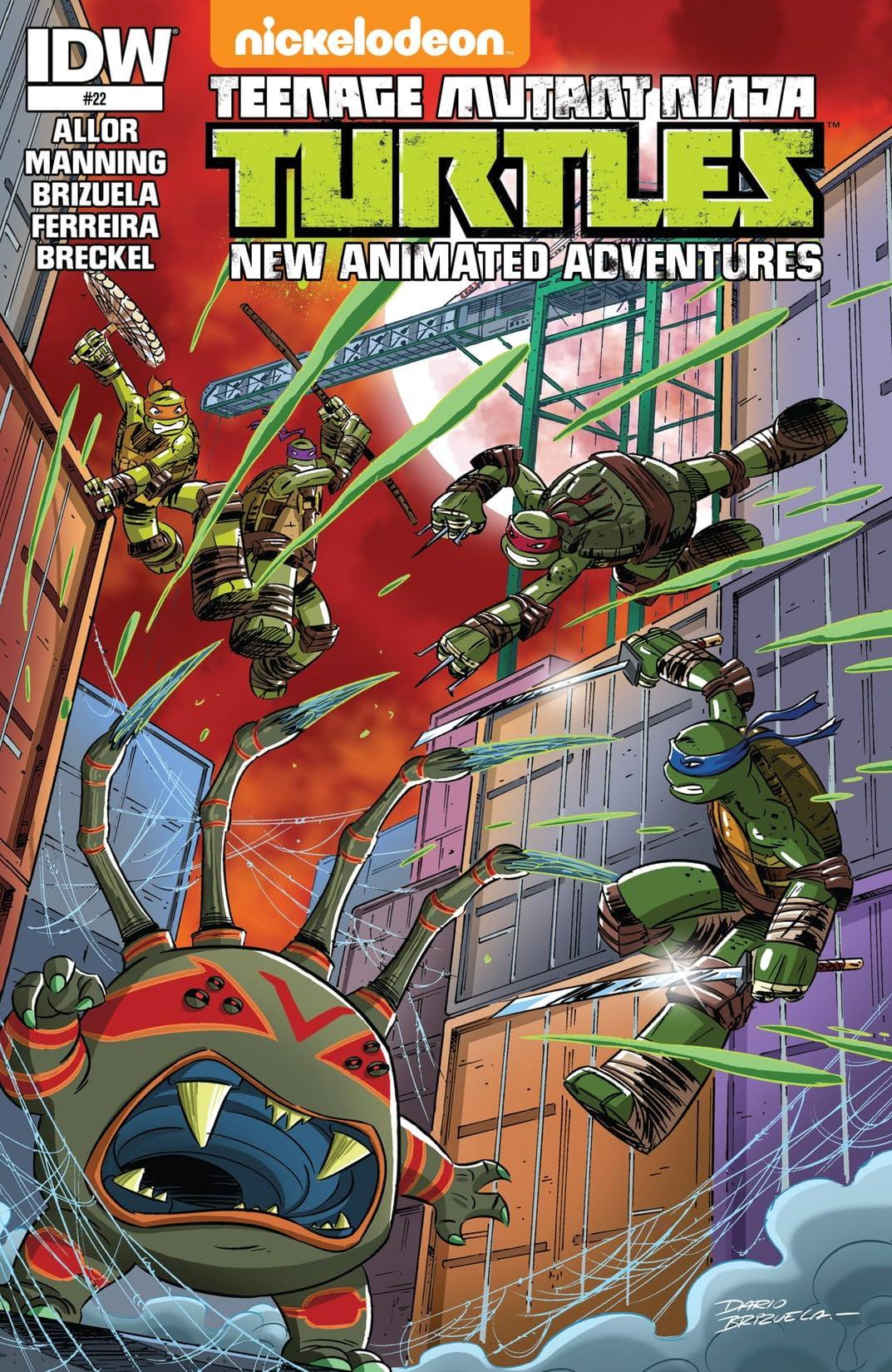 May, 2013 1st printing TMNT Teenage Mutant Ninja Turtles #22 IDW - Cover A