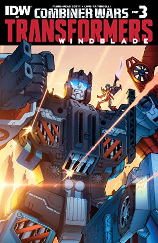 Transformers: Windblade (2015-) #2: Combiner Wars Part 3