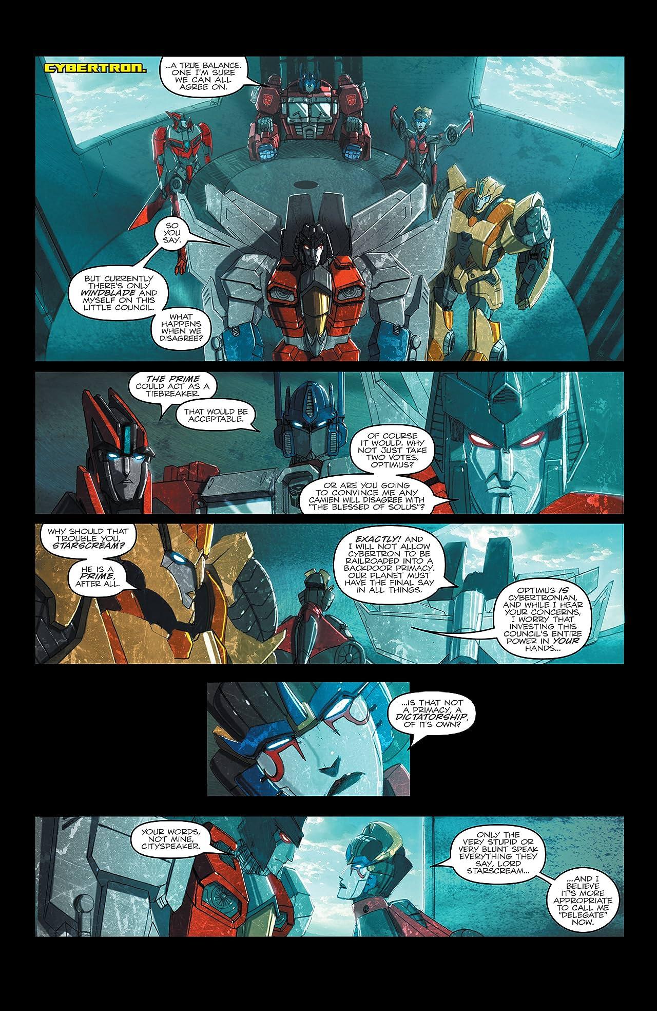 Transformers: Windblade (2015-) #2: Combiner Wars Part 3