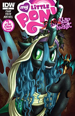 My Little Pony: FIENDship is Magic No.5: Queen Chrysalis