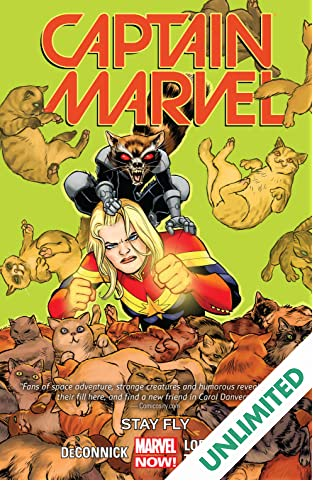 Captain Marvel Vol. 2: Stay Fly