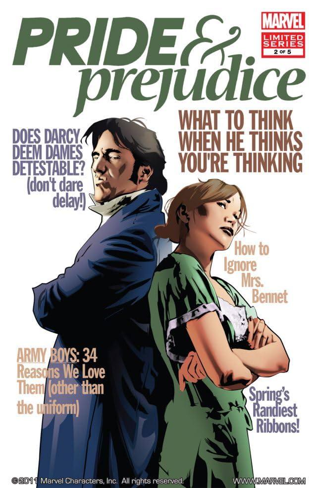 Pride & Prejudice #2 (of 5)