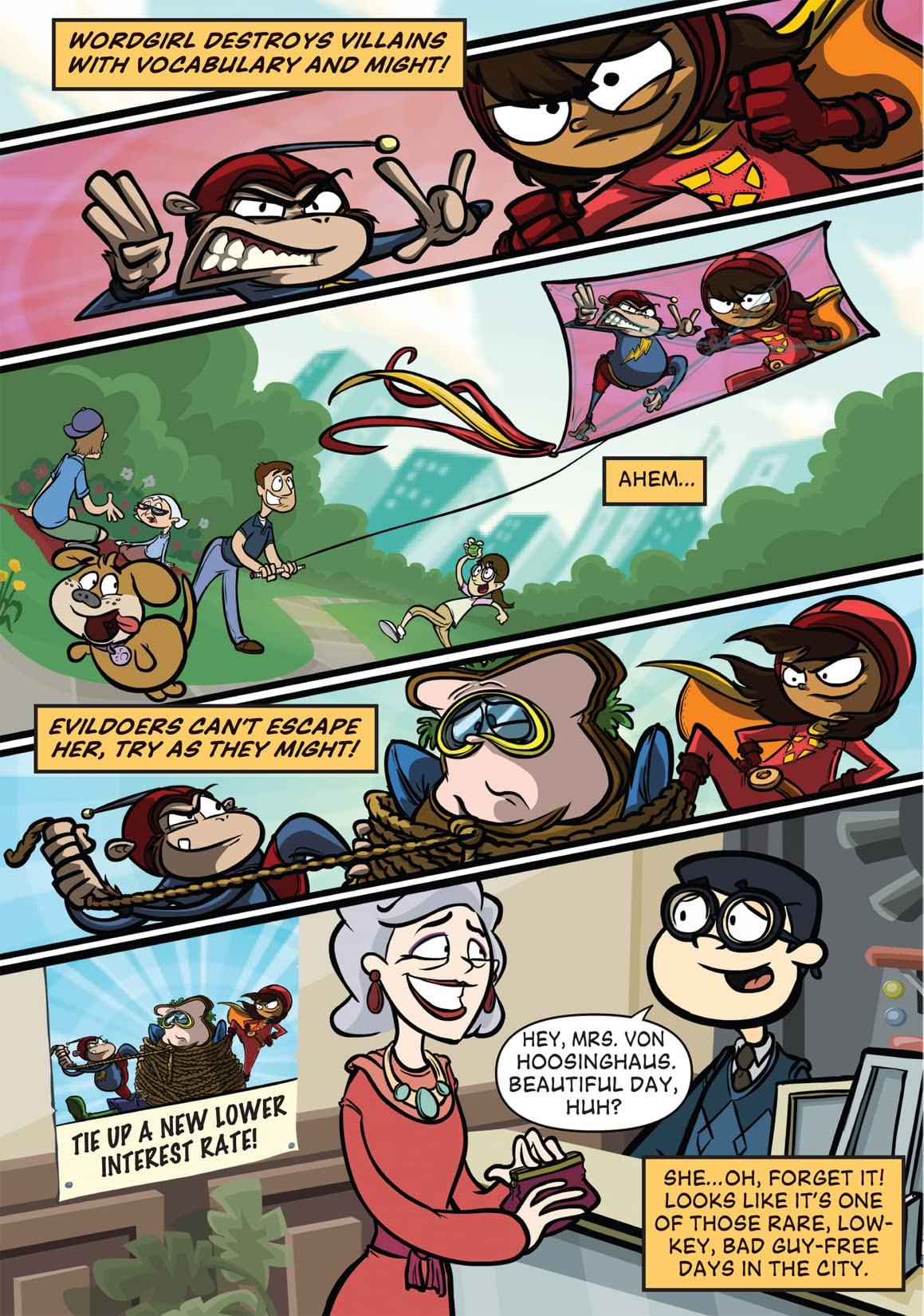 Wordgirl Vol. 3: Word Up