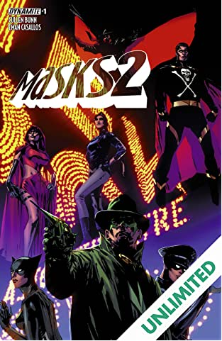 Masks 2 #1 (of 8): Digital Exclusive Edition