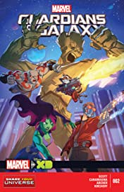 Marvel Universe Guardians of the Galaxy (2015) #2 (of 4)