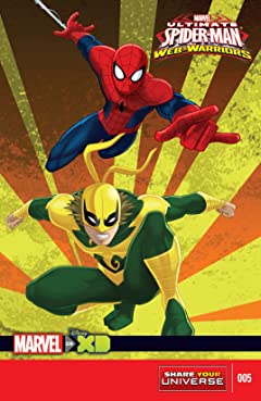 Marvel Universe Ultimate Spider-Man: Web Warriors (2014-2015) #5