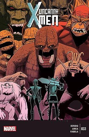 Uncanny X-Men (2013-2015) #33