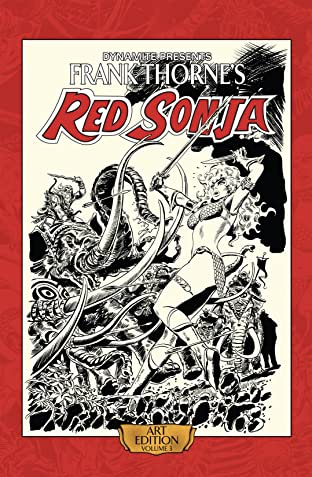 Frank Thorne's Red Sonja: Art Edition Tome 3