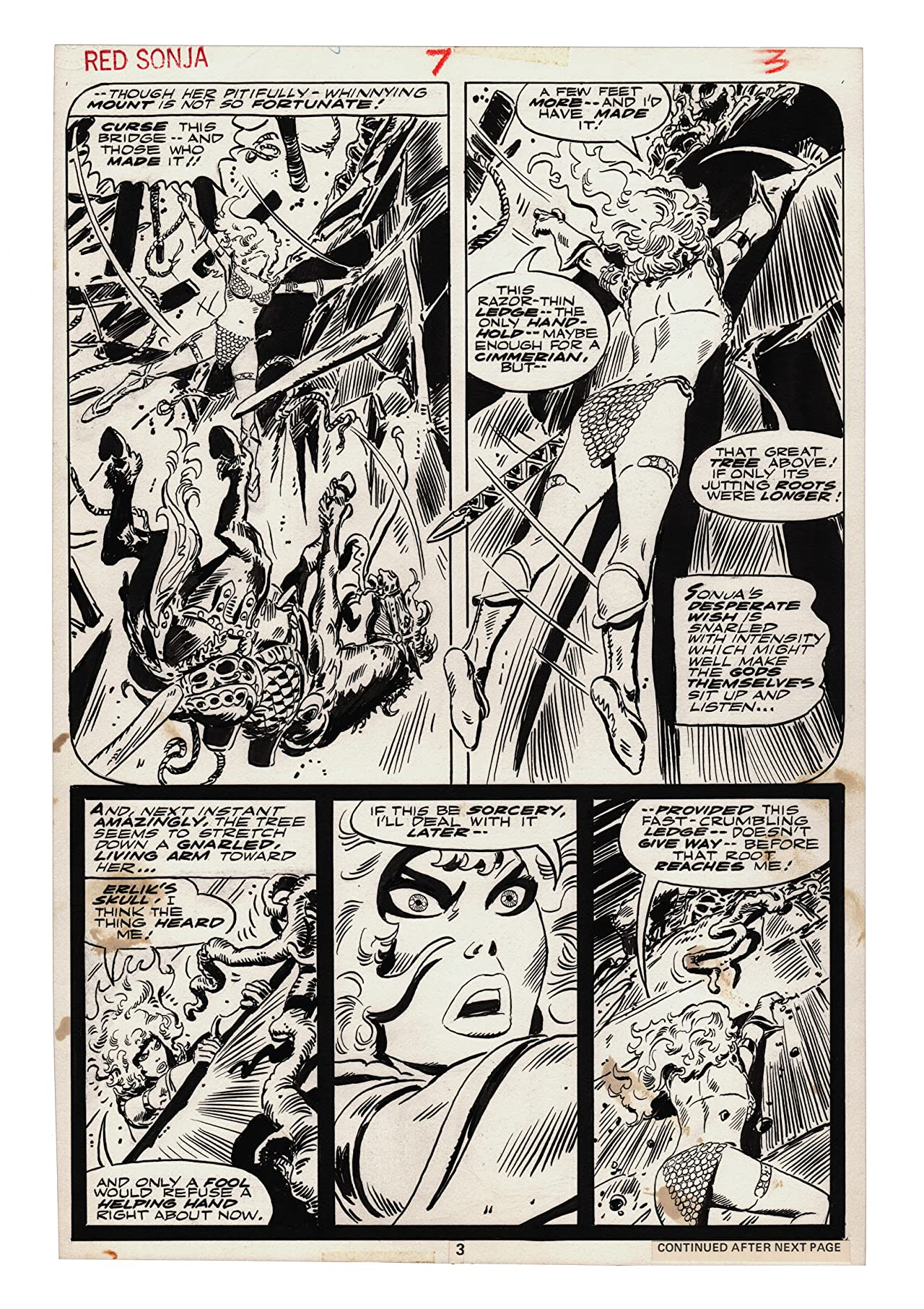 Frank Thorne's Red Sonja: Art Edition Vol. 3